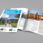 Bulletin municipal Saintes juin 2016