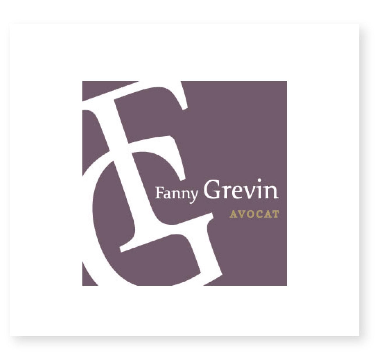 Logo Fanny Grevin Saintes Avocate