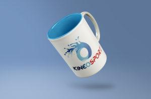 mug café Kineosport logo