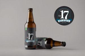 Etiquette bière de garde saintongeaise